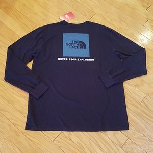 NWT Men's North face long sleeve tee